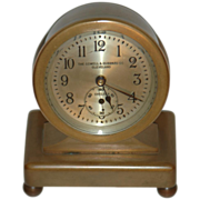 "C.1928 Chelsea Clock Co.,"" Concord"" 8 day Miniature Desk Clock"