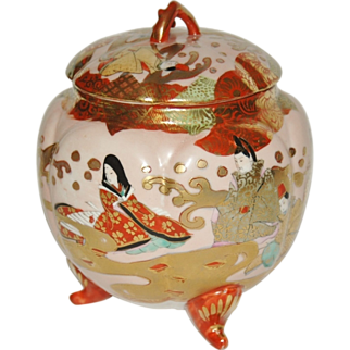 Japanese Porcelain Bowl with Cover