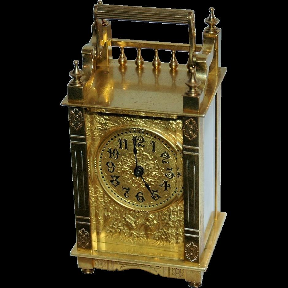 Antique Boston Clock Co. Carriage Clock