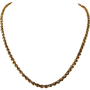 Antique Victorian Gold Chain Necklace