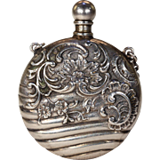 Antique Victorian Decorative Perfume Bottle Pendant