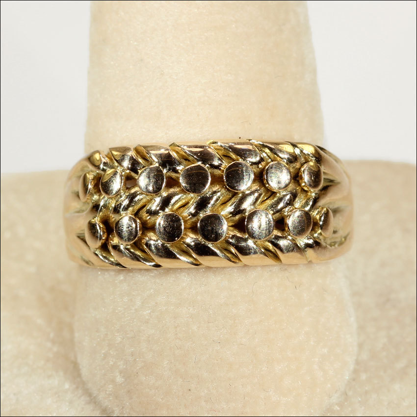Antique Keeper Ring London