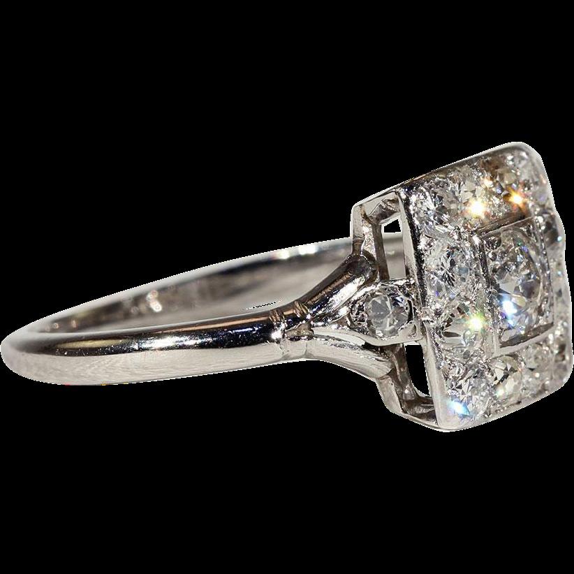 Antique Diamond Engagement Rings London