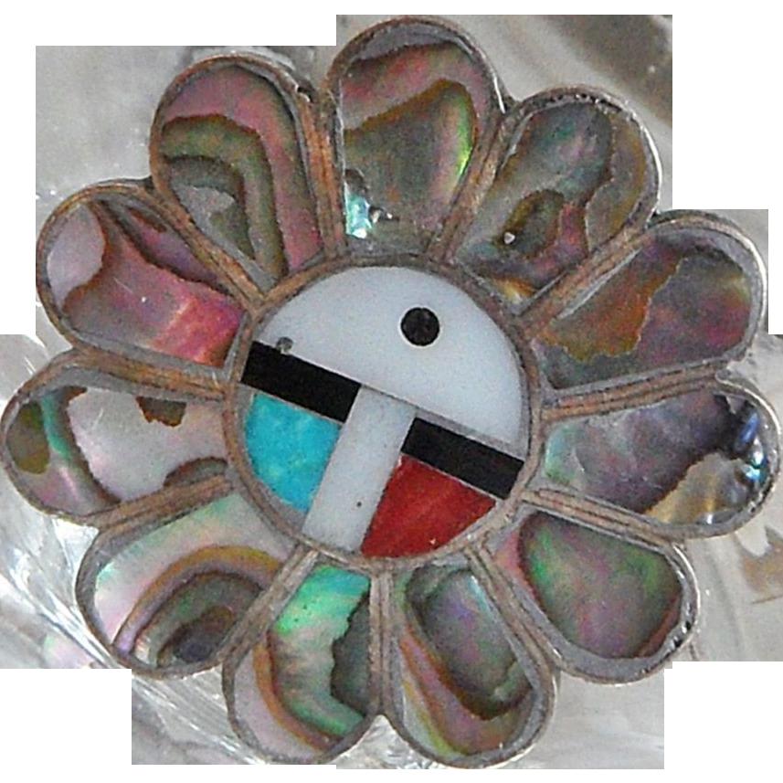 Vintage Zuni Flower Ring