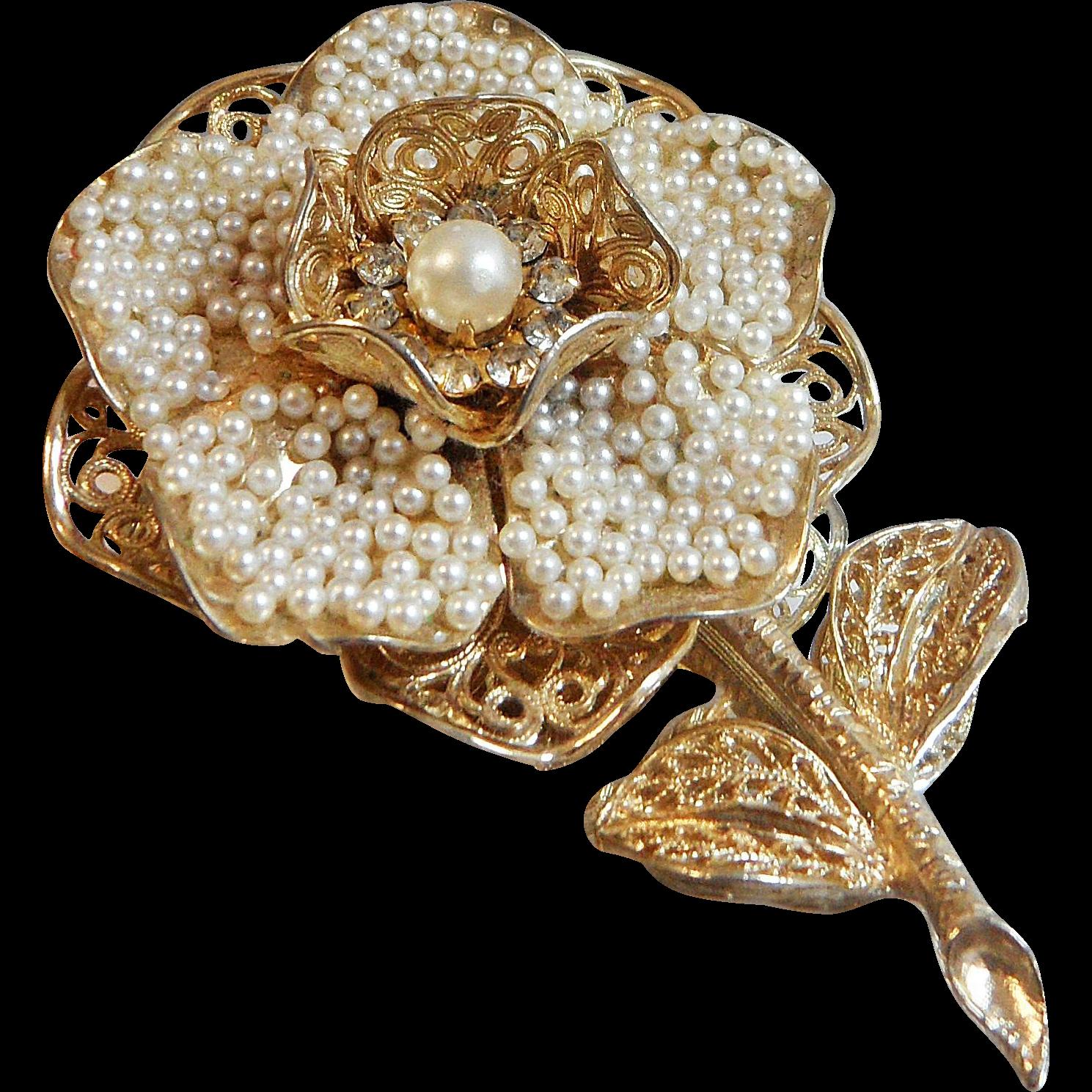 Vintage Seed Pearl 66