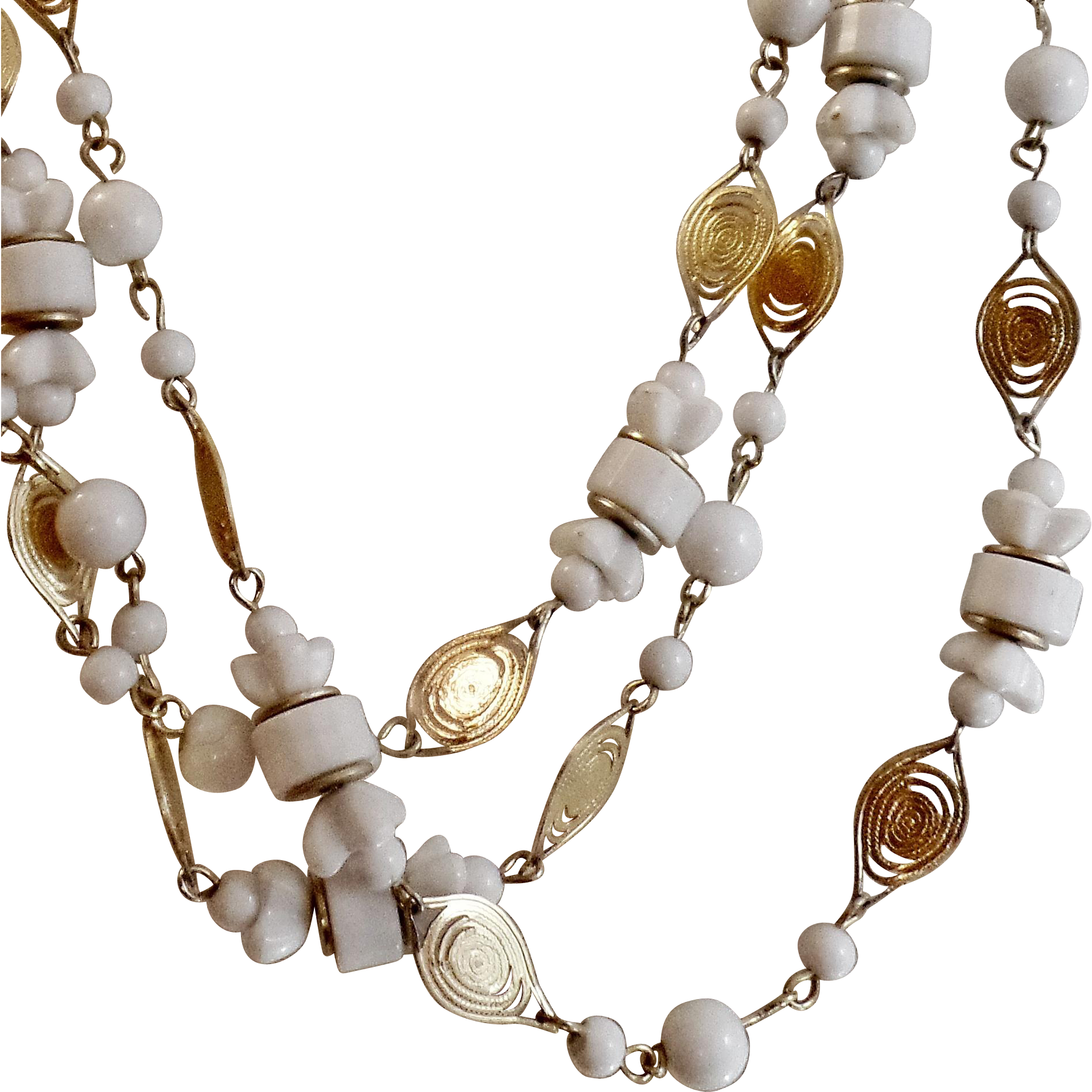 Vintage Flapper Necklace 35