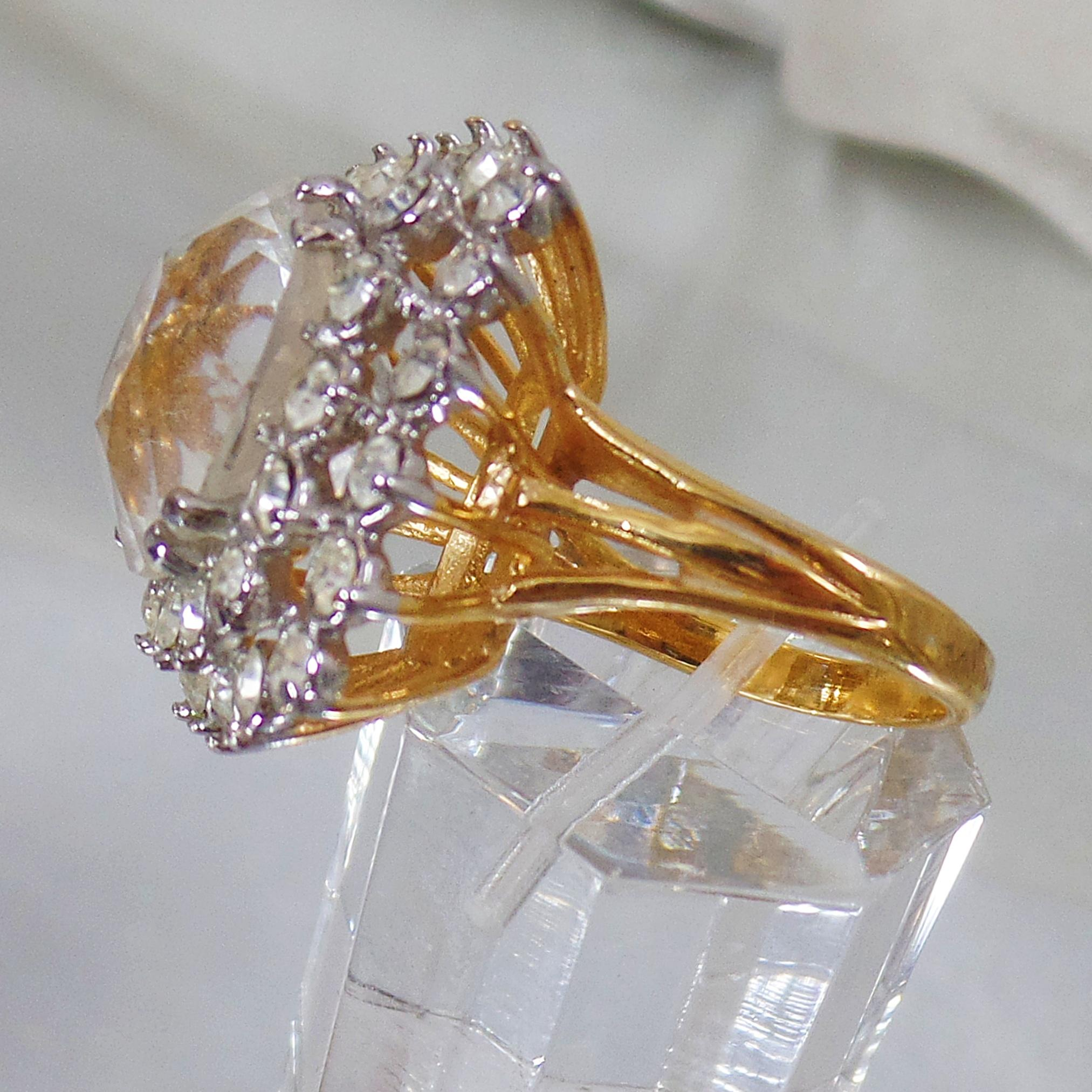 Brand new Beautiful Diamond Cocktail Rings Vintage | Jewellry's Website CM18