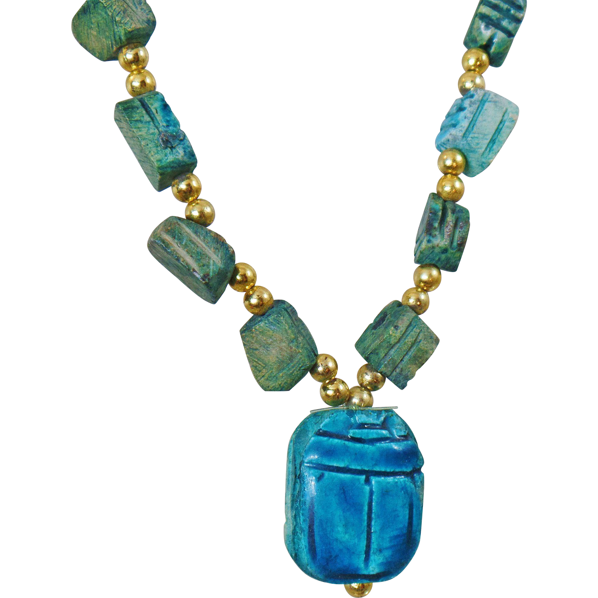 Vintage Turquoise Necklace 87