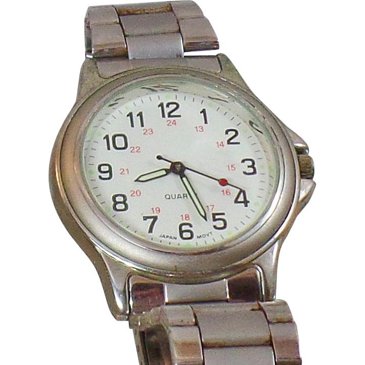 Vintage Advance Puritan Men's Watch. Silver Puritan by Citizen Men's Watch.