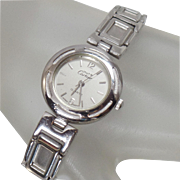 Vintage Must de Cartier Ladies Watch. Stainless Steel Cartier Watch. Designer Watch.