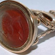 Antique Georgian Large Fob Seal Intaglio