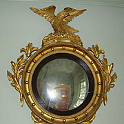 Federal Period Convex Mirror