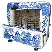 Rare Toastrite Blue Willow Ceramic Electric Toaster