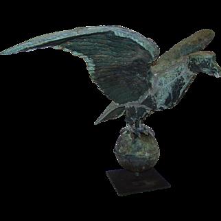 Patriotic American Eagle Antique Weathervane