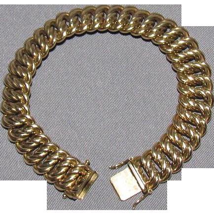 8K .333 Gold Friedrich Binder FBM Germany Bracelet