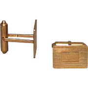 14K Solid Gold Cufflinks 9.4 Grams