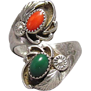 E. Harvey Navajo Sterling Silver Ring