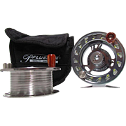 Pflueger President 2034 Fly Fishing Reel Plus Extra Spool