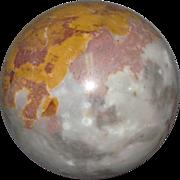 Agate Sphere, Natural:  4-Inch Diameter
