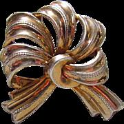 Early Silver Mexico Pendant Pin