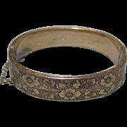 Dunn 10/20 GF On Sterling Bangle Bracelet