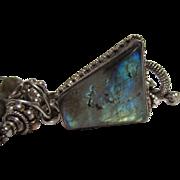 Labradorite & Sterling Silver Necklace