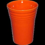 Original Fiesta Water Juice Tumbler Radioactive Orange
