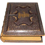 1877 Victorian Centennial Family Holy Bible