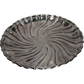 Mid-Century 10-Inch Gorham Sterling Silver Serving Tray