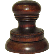American Watchmaker's Tiger Maple Double Oil Pot, early 1800s