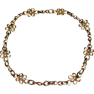 8K Gold Early 20th Century Necklace