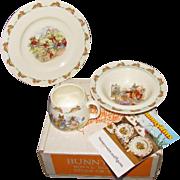 NEW Royal Doulton Bunnykins Three Piece Boxed Set
