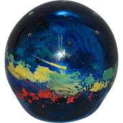 Starry Night Comet Paperweight