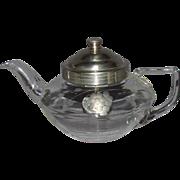 Carder Steuben Pyrex Teapot #3298