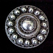 Vintage Sterling Silver Pin Exceptional Design
