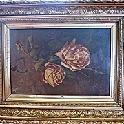 Victorian Gold Gesso Painting Frame Fabulous Design Painting Free