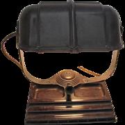 Bankers Bakelite Desk Lamp Pen Holder Art Deco Works