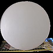 Retro Mid Century Fiberglass Dome Sphere Lamp Table Lamp Retro