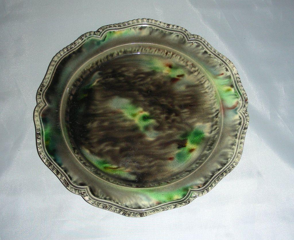 18th C English Whieldon Creamware Plate