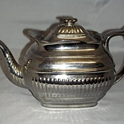 English Silver Lustre Teapot c. 1820