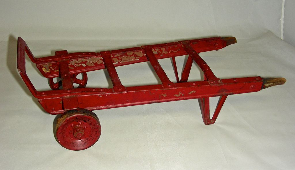 American Pulley Company Salesman's Sample Hand Truck or Dolly, Early 20th century