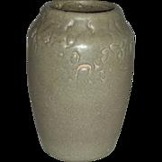 Gray Glazed Hampshire Pottery Vase, Early 20th Century