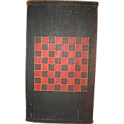 3-Color American Game or Checkerboard w/ Breadboard Ends w/ Original Surface