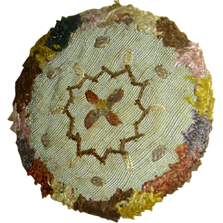 English Watch Sampler w/ Sheered Stitching, c. 1810
