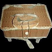 Sabbathday Lake Shaker Poplarware Sewing Box, c. 1900