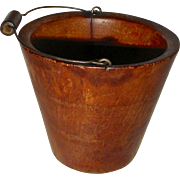 Miniature Bail Handle Wooden Pail or Bucket