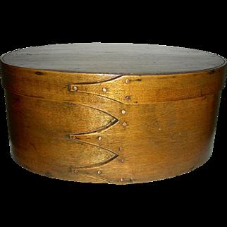 """11 ¼"""" Oval Shaker Box w/ 4 Fingers"""