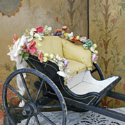~~~ Wonderful and Rare English Cab or Carriage for Fashion Dolls ~~~