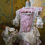 "~~~RESERVED for C. ~~~ Superb French Couture Costume for circa 29"" BeBe ~~~"