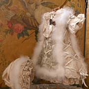 "~~~ Pretty French Silk BeBe Costume "" Christmas in July"" ~~~"